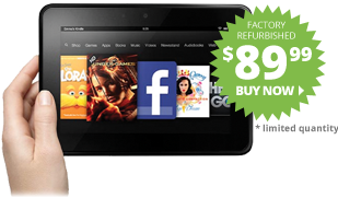 Kindle Fire HD - $89.99